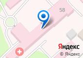 Центральная городская больница г. Азова на карте