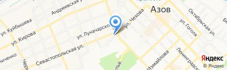 Автолюкс на карте Азова