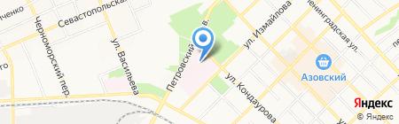 Противотуберкулезный клинический диспансер на карте Азова