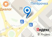 Афины на карте
