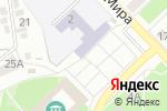 Схема проезда до компании Средняя общеобразовательная школа №1 в Азове