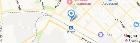 Домофон Плюс на карте Азова