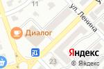 Схема проезда до компании Ситилинк mini в Азове