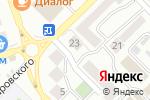 Схема проезда до компании Санги Стиль в Азове