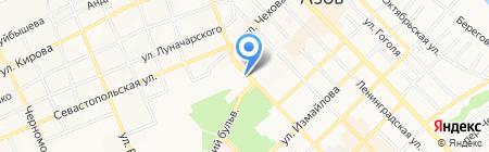 Визит на карте Азова