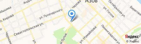 Нектар на карте Азова