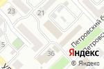 Схема проезда до компании Ростелеком в Азове