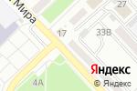 Схема проезда до компании Место тесто в Азове