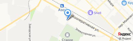 Ритуал на карте Азова