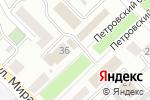 Схема проезда до компании Белладжо в Азове