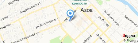 Киоск по изготовлению ключей на карте Азова