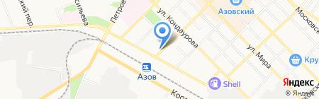 ЕЛЕНА на карте Азова
