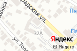 Схема проезда до компании Азовская автомобильная школа в Азове