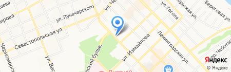 Банкомат КБ Центр-инвест на карте Азова