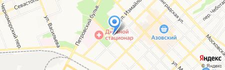 Центр Юридической Защиты на карте Азова