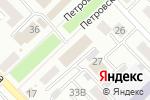 Схема проезда до компании Типография в Азове