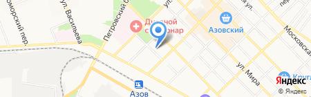 Наркологический диспансер по Ростовской области на карте Азова