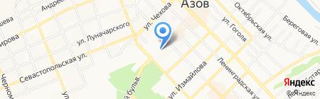 Нотариус Петченко А.Г. на карте Азова