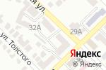 Схема проезда до компании Енот в Азове