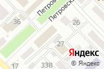 Схема проезда до компании Малыш в Азове