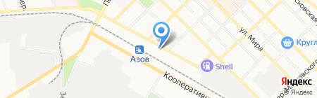 Вика на карте Азова