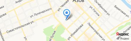 Департамент имущественных отношений на карте Азова