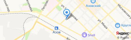 Ромашка на карте Азова