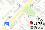 Схема проезда до компании Продукты 24 часа в Азове