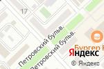 Схема проезда до компании Орион в Азове