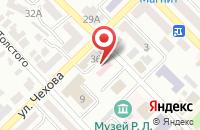 Схема проезда до компании Мировые судьи г. Азова в Азове