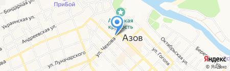 Донской педагогический колледж на карте Азова