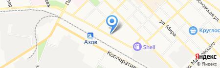 Цитрон на карте Азова