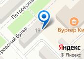 На Петровском на карте