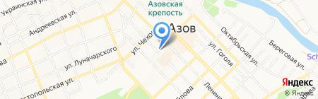 Содружество на карте Азова