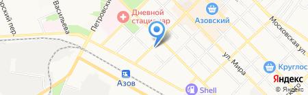 КанцМаркет на карте Азова