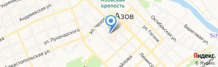 Парадиз на карте Азова