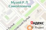 Схема проезда до компании Весна в Азове