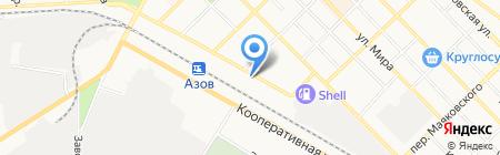 Управляющая организация ЖКХ А на карте Азова
