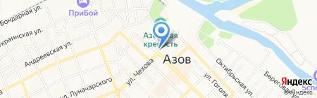 ЛаПТАХ на карте Азова