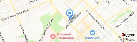 Стоматологическая поликлиника г. Азова на карте Азова