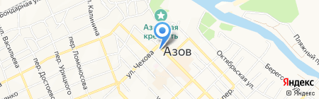 Новые окна на карте Азова