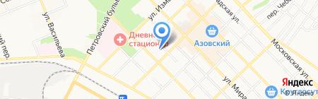 Детский сад №3 Тополек на карте Азова