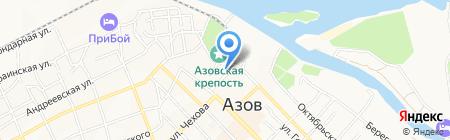 Soho grand hotel на карте Азова
