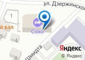 Строящееся административное здание по ул. Шмидта (г. Азов) на карте