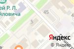 Схема проезда до компании Фабрика счастья в Азове