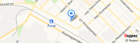 Азов-Сити Медиа на карте Азова