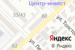 Схема проезда до компании Юг-Инвестбанк в Азове