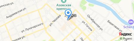 Бульвар на карте Азова