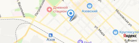 Детский сад №16 на карте Азова