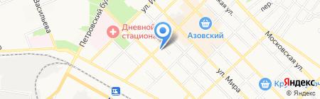 Сударушка на карте Азова